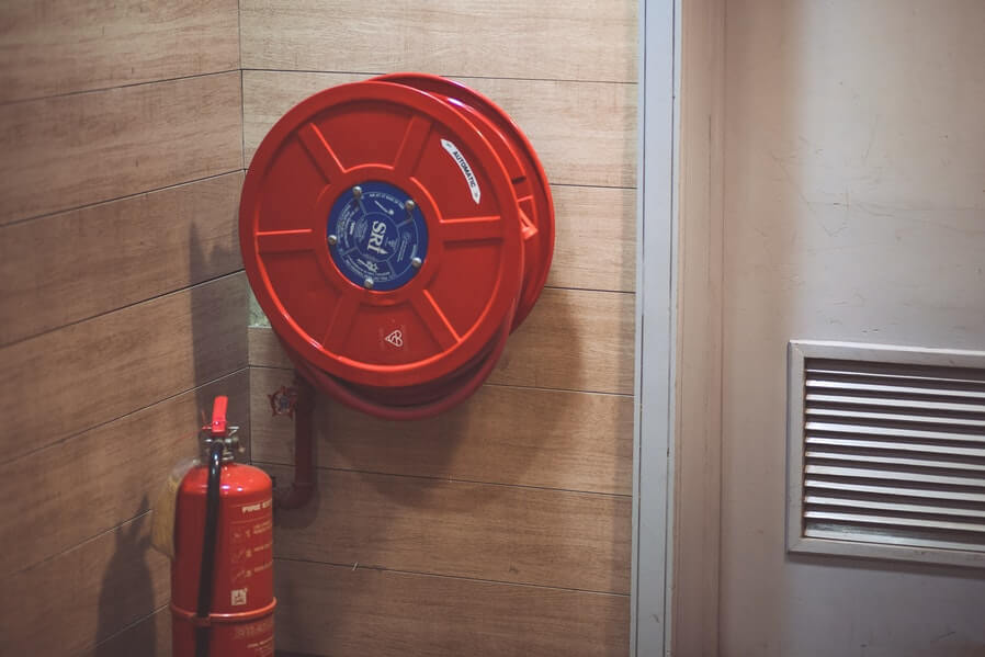 condo safety during holidays-have fire alarm and fire extinguisher