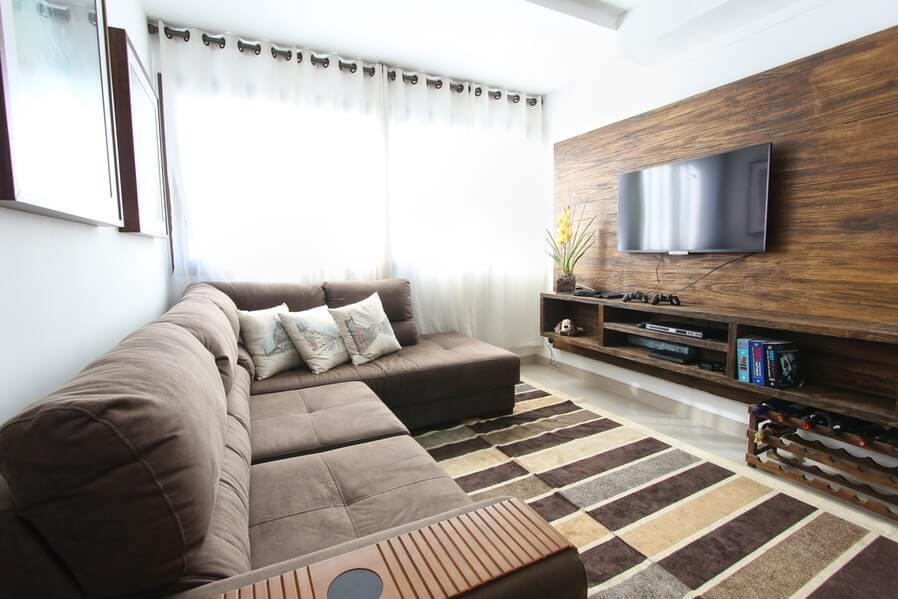 DIY cinema get comfy with furnishings