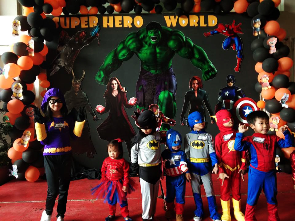 These mini superheroes are here to save the world from evil.