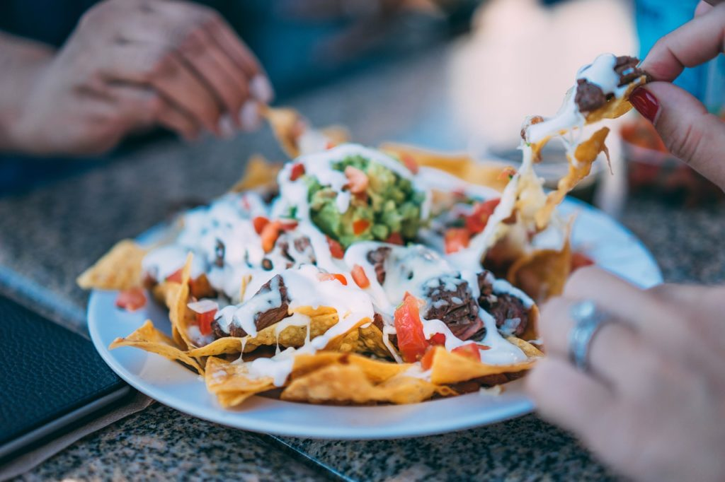 fingerfoods nachos