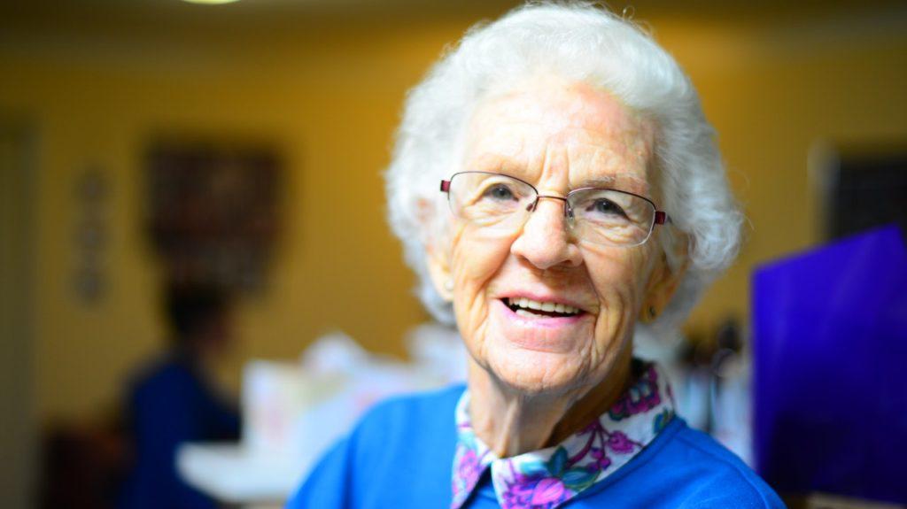 grandma smile