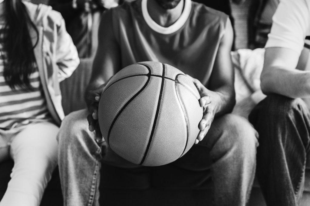 kid handling ball