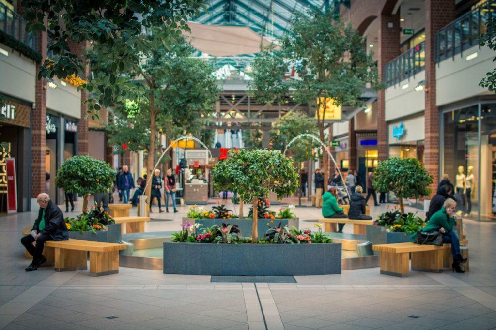 mall nearby establishments