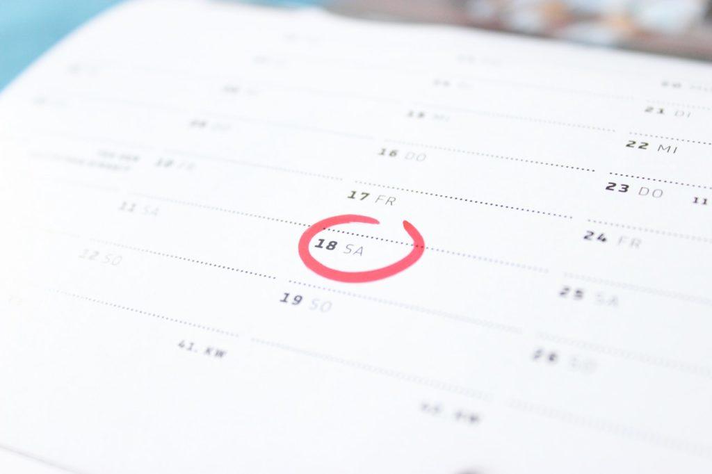 schedule spending