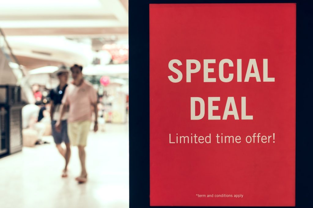 special deal promo