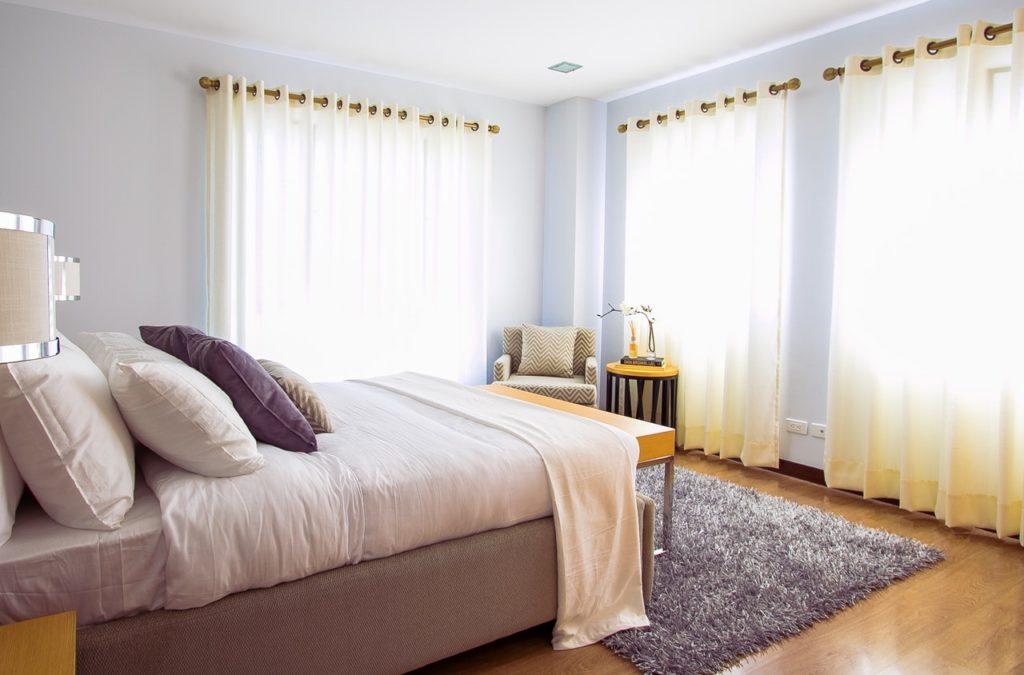 bedroom place lighting