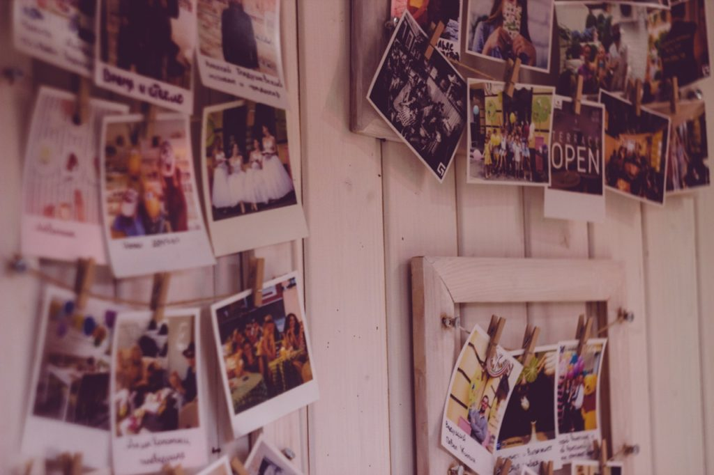 photo memories wall