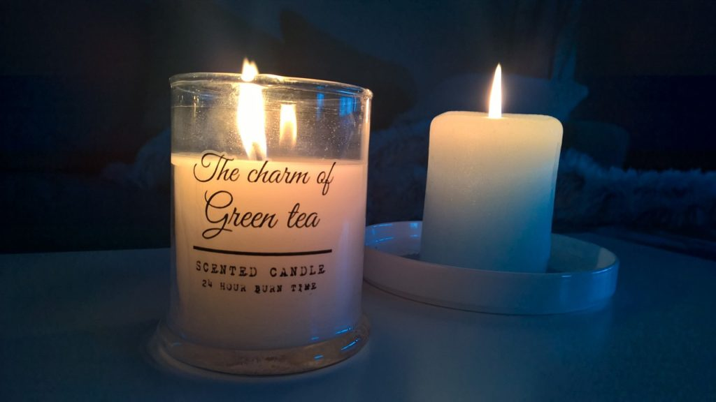 the scent of candles
