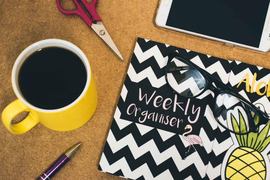 use planner weekly activity