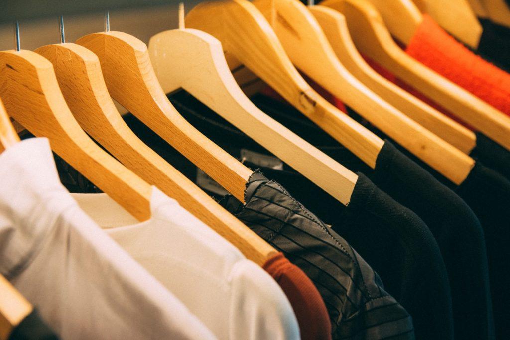 wardrobe hanger dress