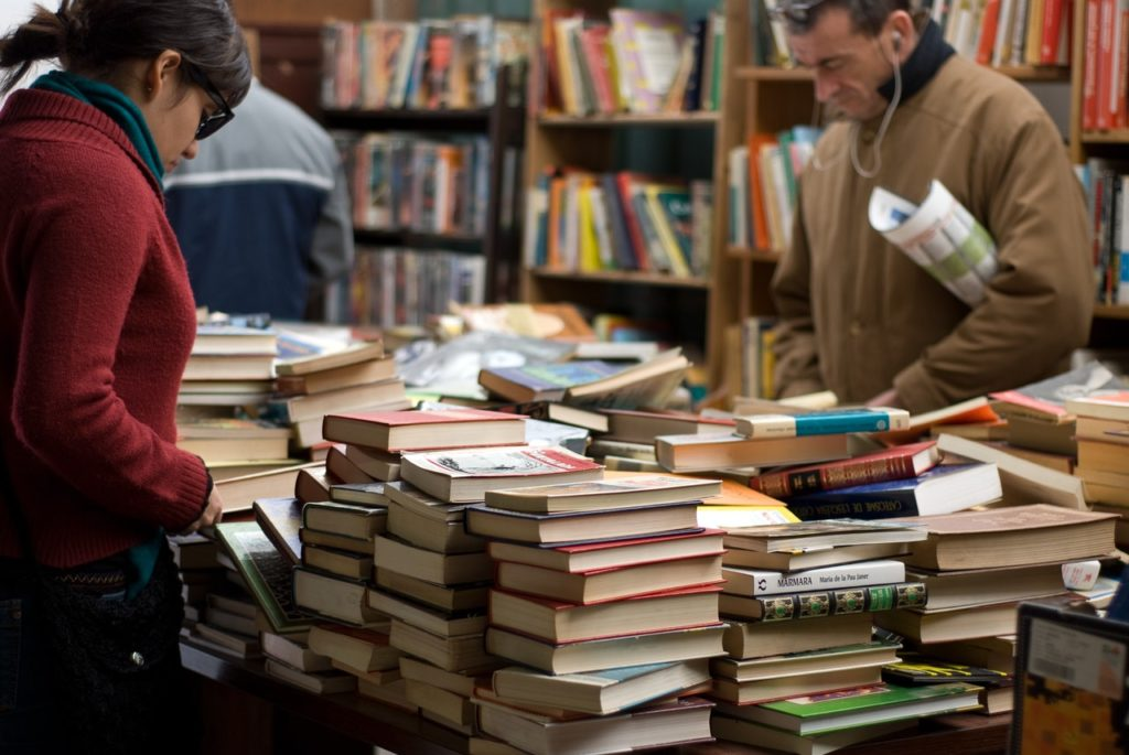 2nd hand book store