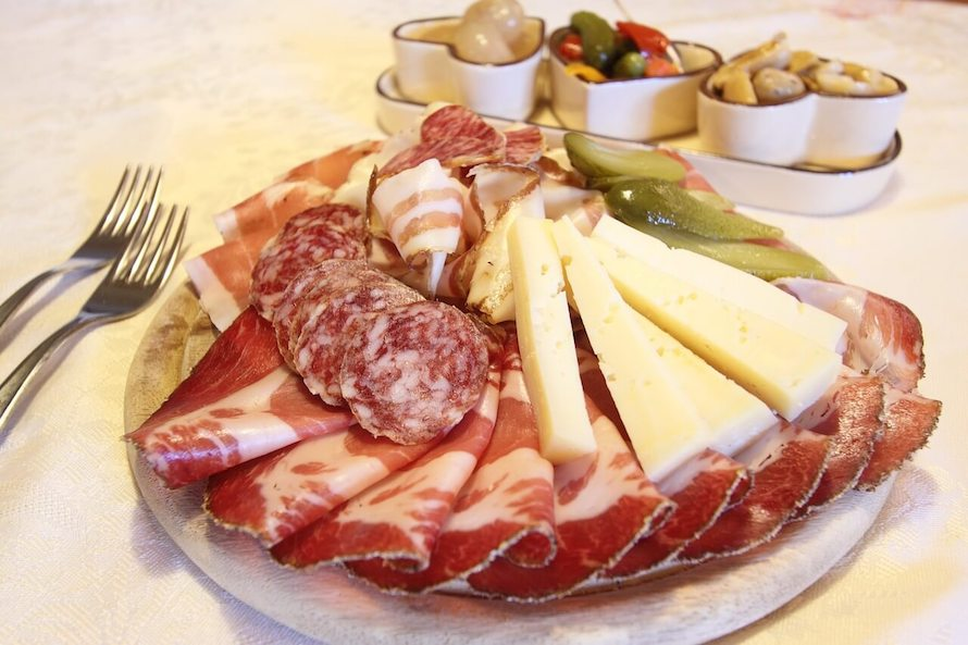 valentine's day recipe cold cuts