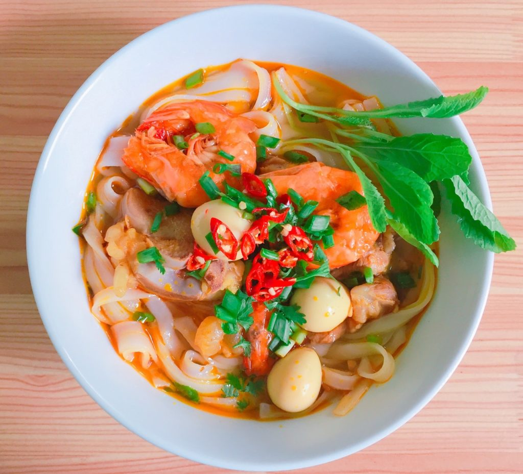 shrimp soup thai cuisine
