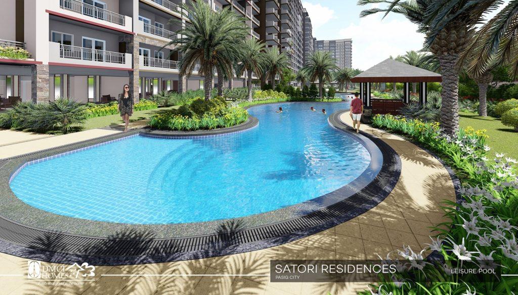 Satori Residences Lounge Pool large