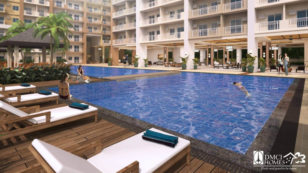 dmci homes view pool