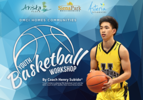 DMCI Homes Communities Youth Basketball Workshop 2019