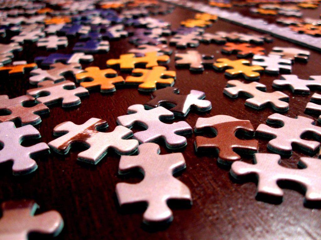 assemble puzzle challenge