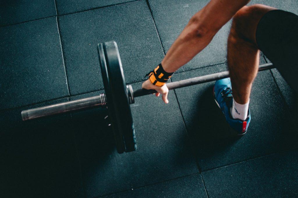 barbell bodybuilder bodybuilding