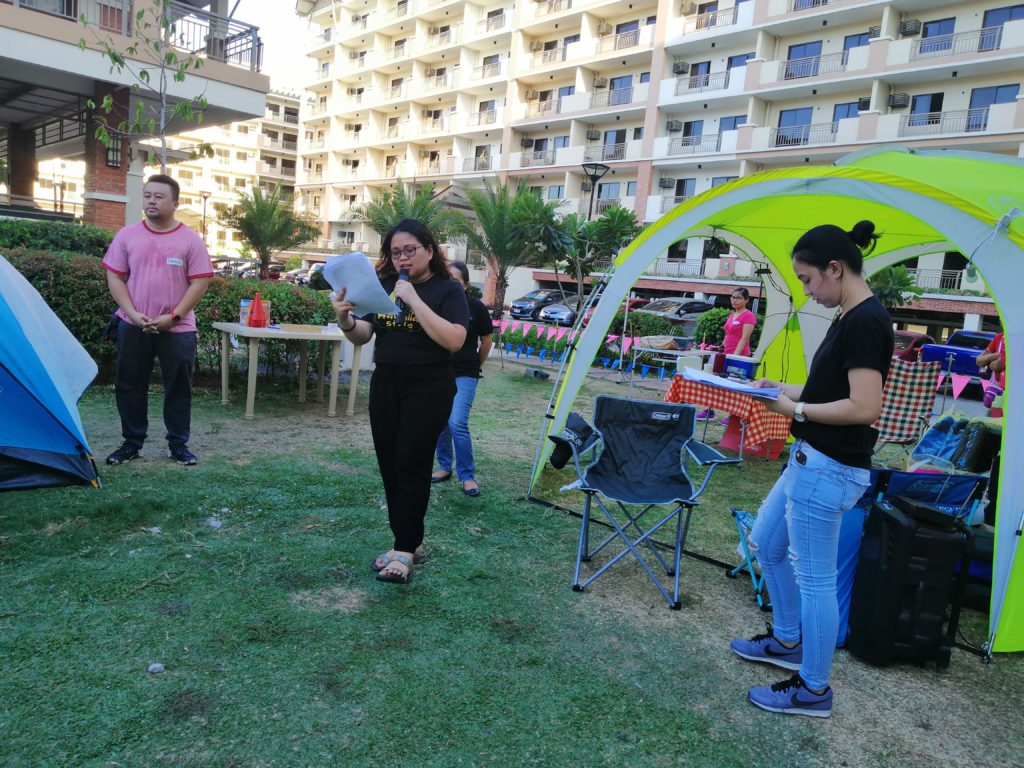 The event commenced with a rundown of the activities in stored for the participating families.