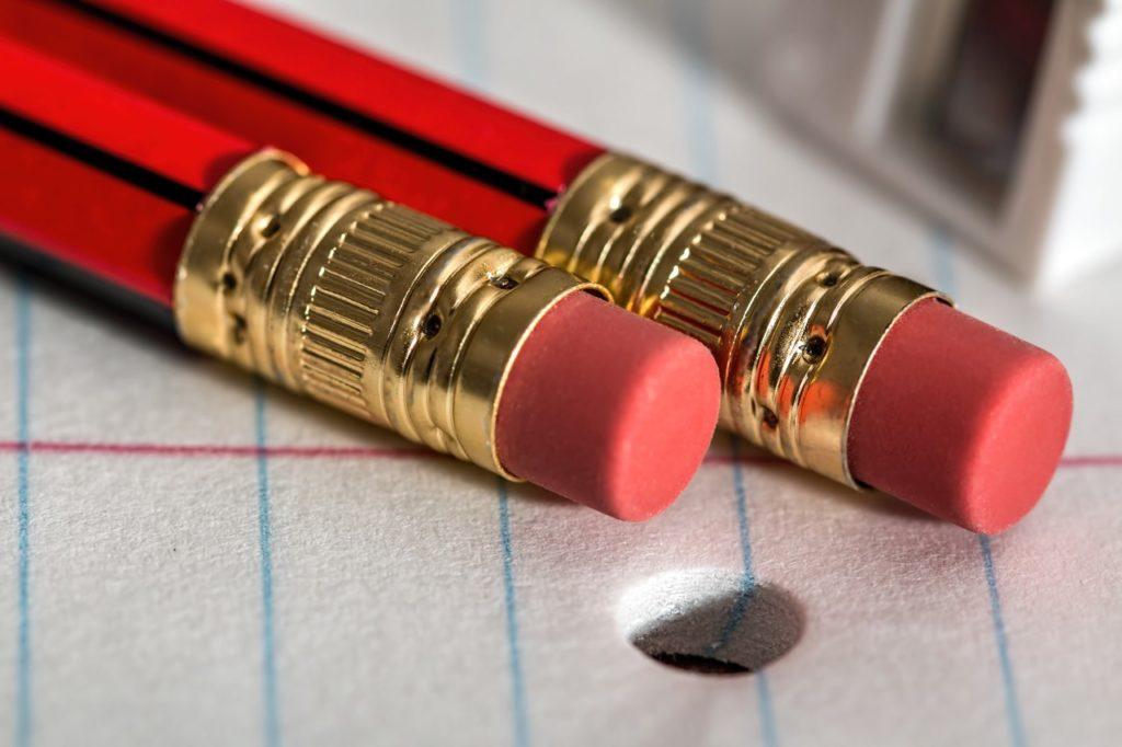 pencil eraser