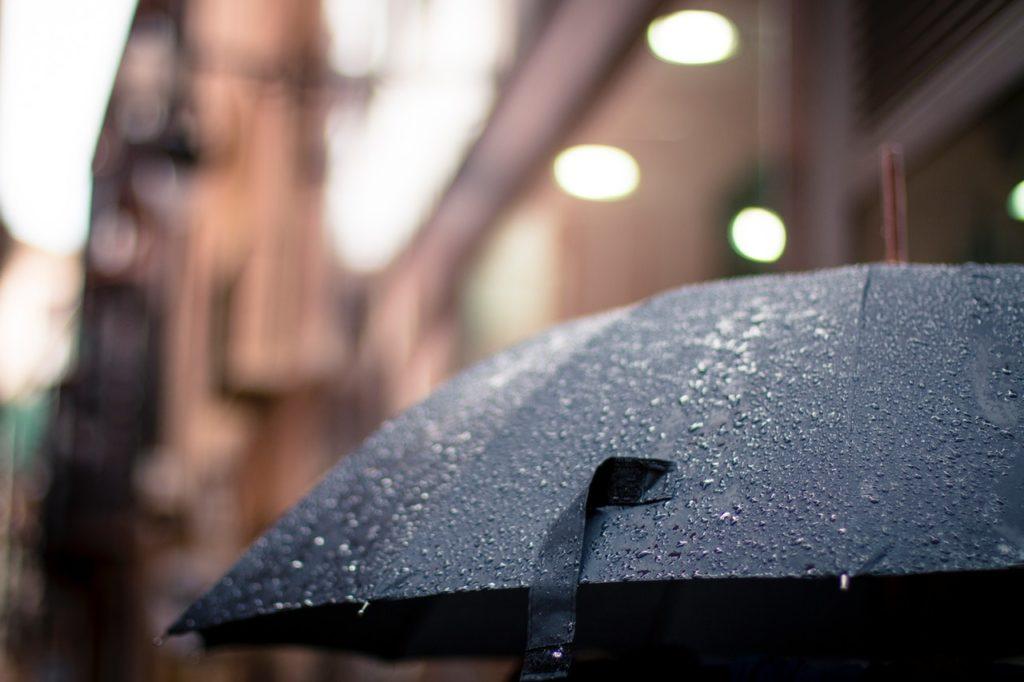 rain umbrella weather