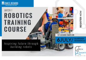 Robotics Training Course in Rhapsody Residences