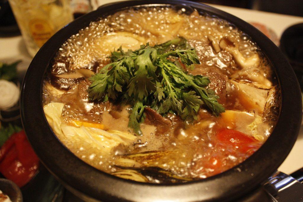 korean beef stew dish