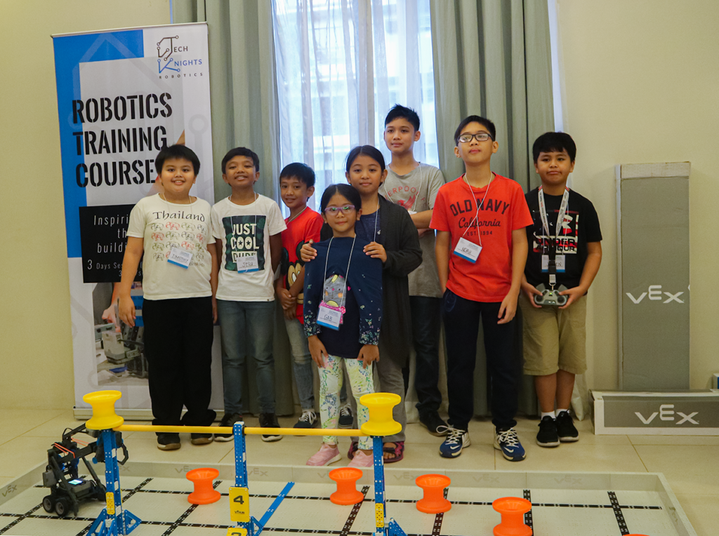 DMCI Homes X TechKnights Robotics: Robotics Training Course for Kids