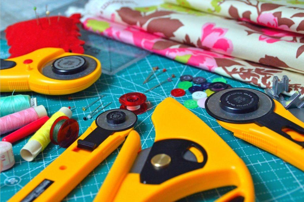 learn sew stitch patch