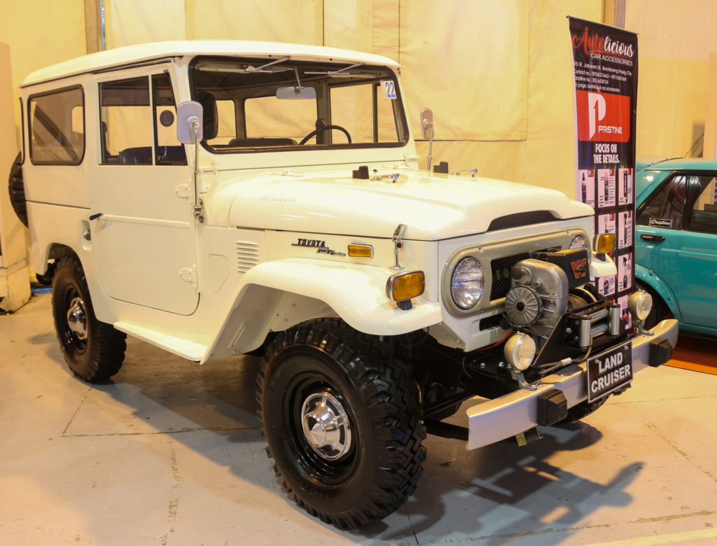 Blast from the past: a restored vintage Land Cruiser for those who are retrophiliacs.