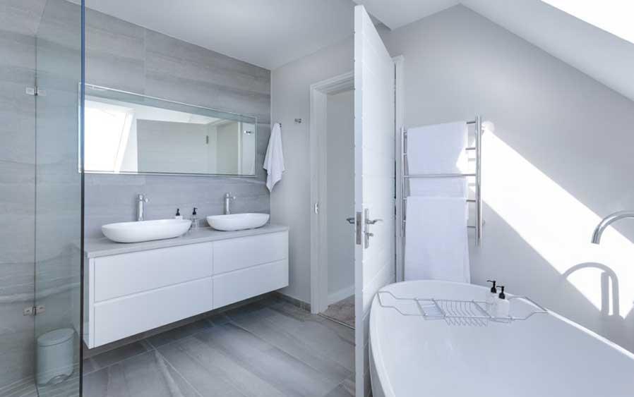 classy bathroom renovate