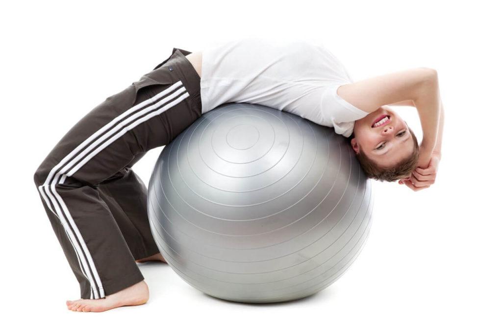 maximize the exercise ball