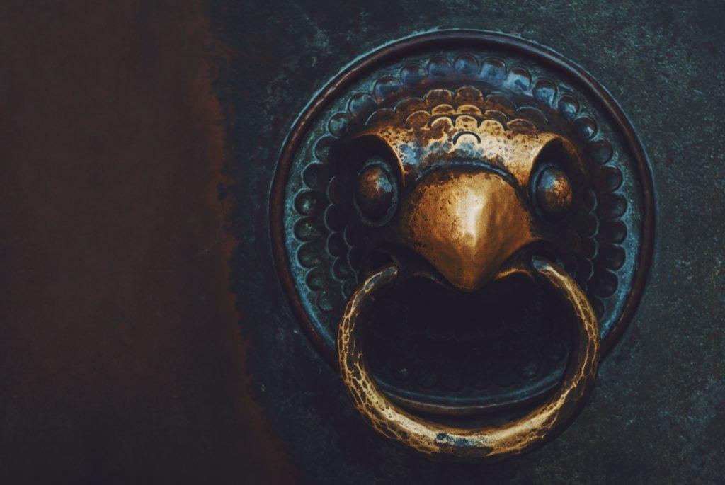 add a doorknocker for interiors