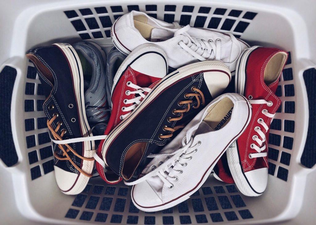 door shoe basket