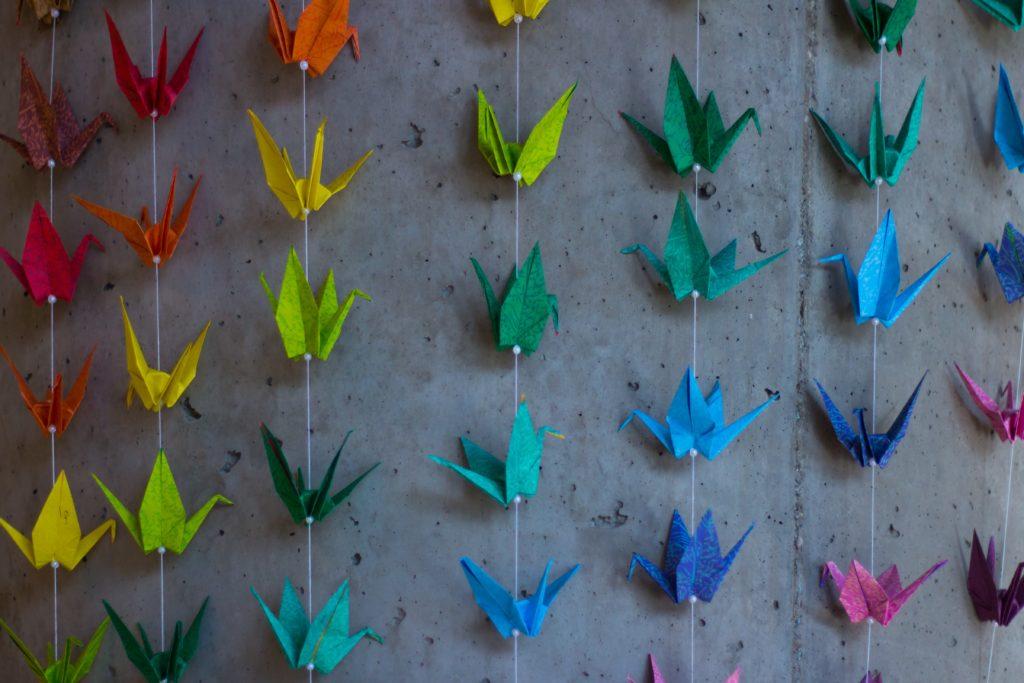 origami dangle