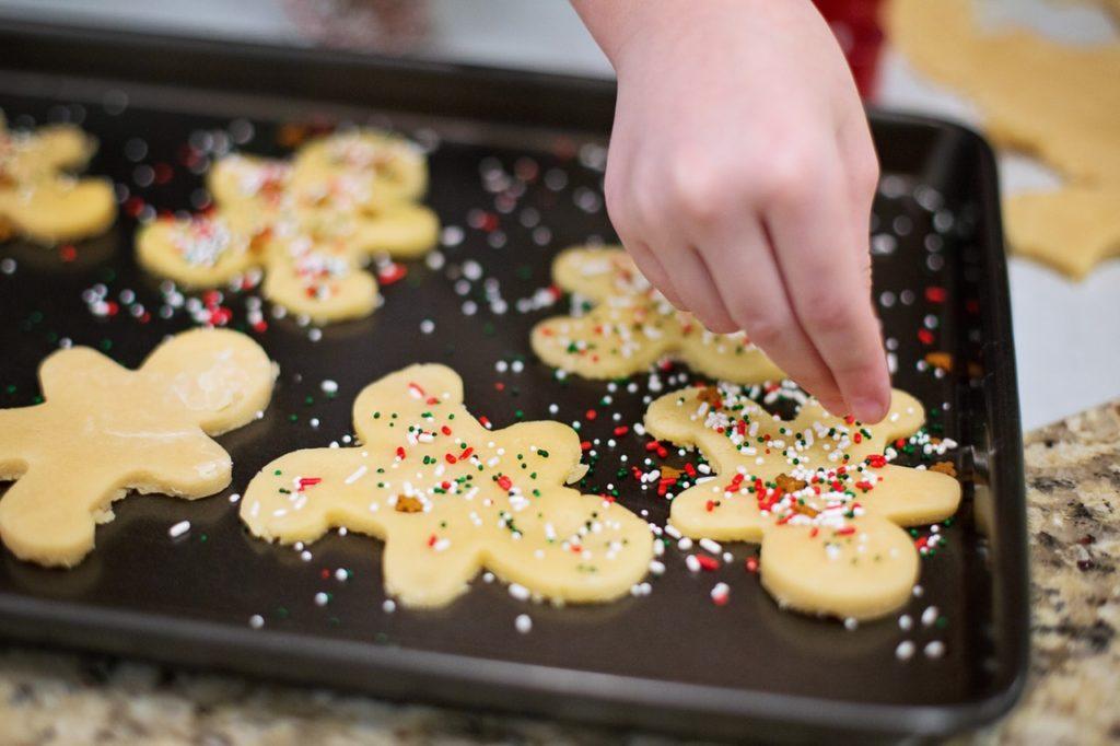 sweet cookies baking