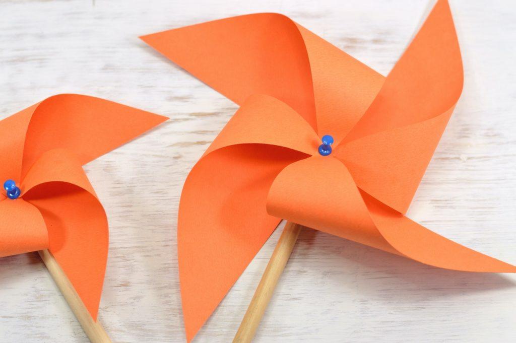 origami filled easter