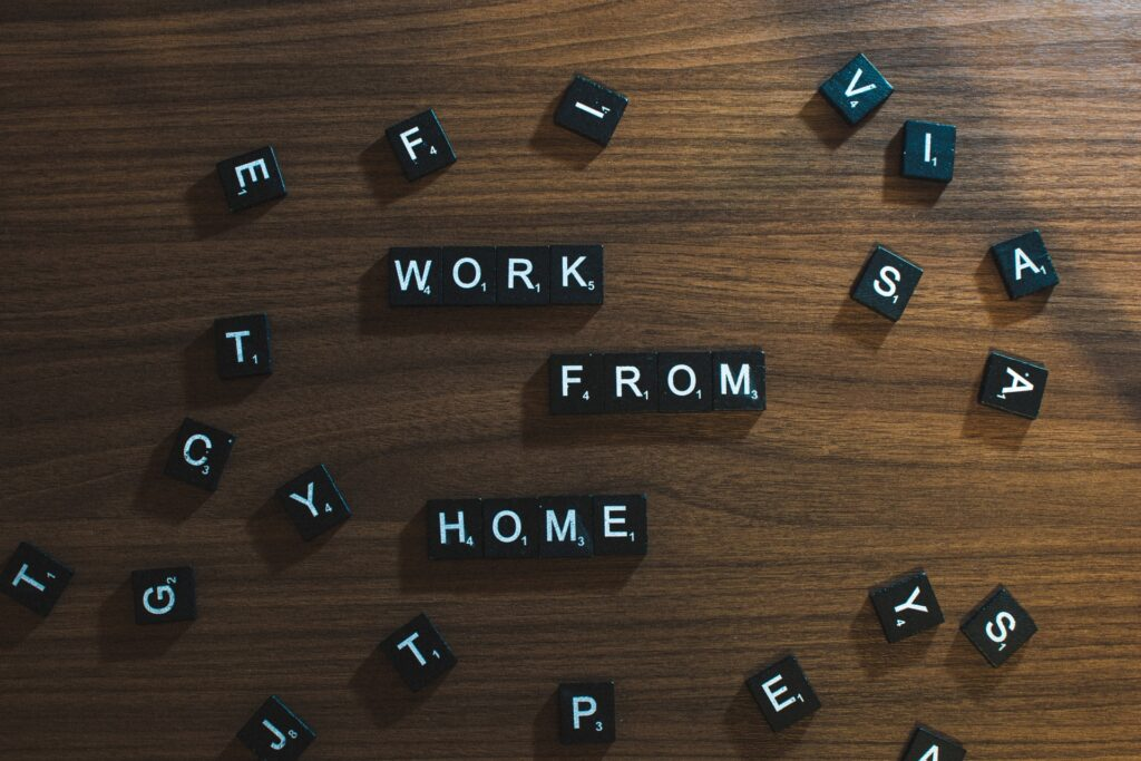 work from home dice