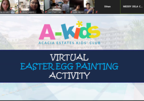 LOOK: Palm Grove Easter Vigil and Acacia Estates' A-Kids Easter Egg Painting