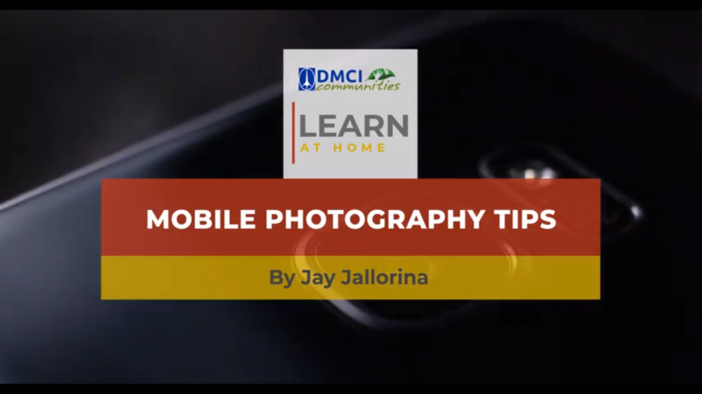 Learn at Home: Photography with Jay Jallorina