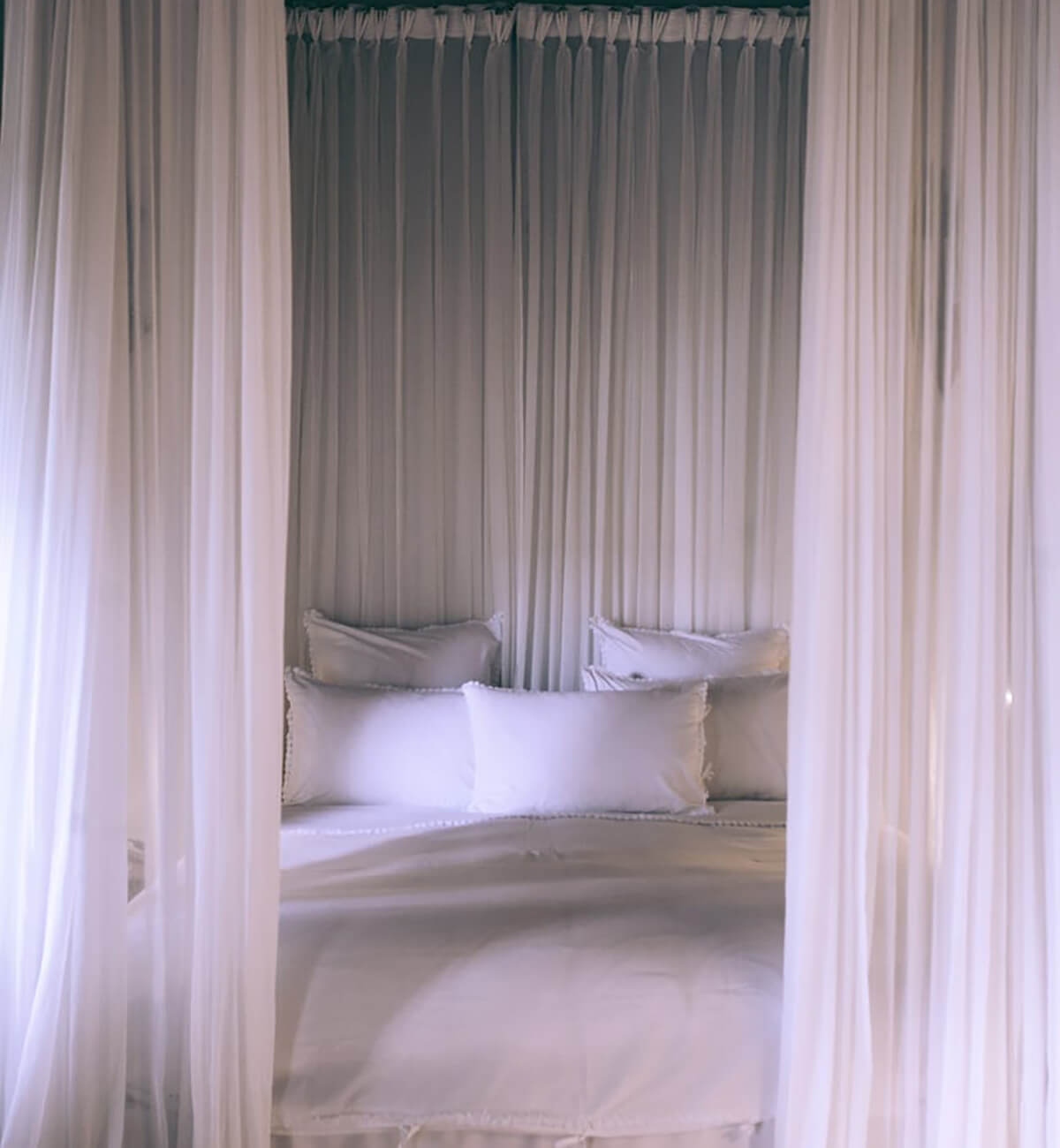 Invest in good quality throws, duvets, and comforters