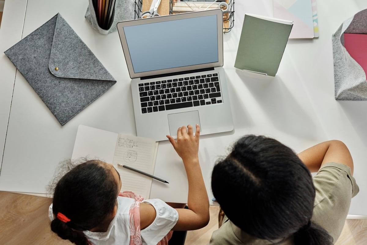 Create a school environment at home